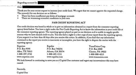 rejected   card understanding  credit card denial