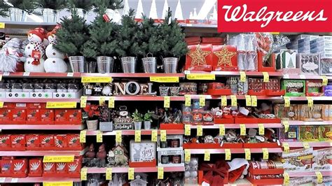 christmas   walgreens christmas shopping ornaments