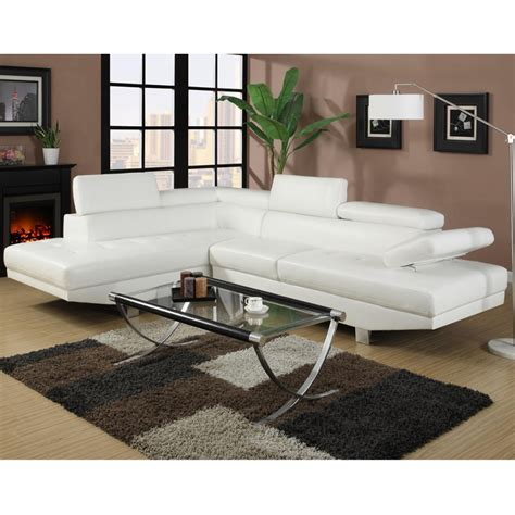 canape d angle blanc cuir canape d 39 angle napoli cuir reconstitue blanc gauche