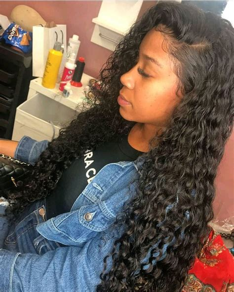Wave Sew In Hairstyles by Lace Closure With Bundles Wave Peruvian Weave Sew Ins