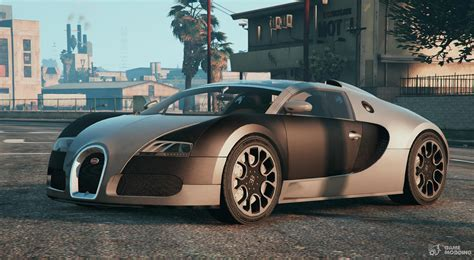 Hey guys i got a question, what do you think of the cars in gta 5? Bugatti Veyron ( Automatic Spoiler ) for GTA 5