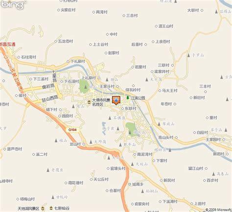 foto de 绍兴市新昌县地图
