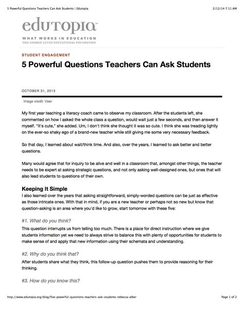 5 powerful questions teachers can ask students epic 675 | 5 Powerful Questions Teachers Can Ask Students
