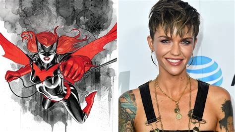 ruby rose  batwoman  photo   cw hero unveiled