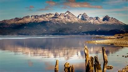 4k Ushuaia Argentina Mountain Lake Wallpapers Sea