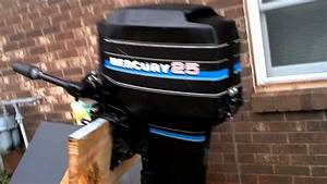 1983 Mercury Outboard Motor 25 Hp For Sale On Ebay