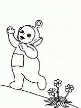 Coloring Pages Teletubbies Printable sketch template