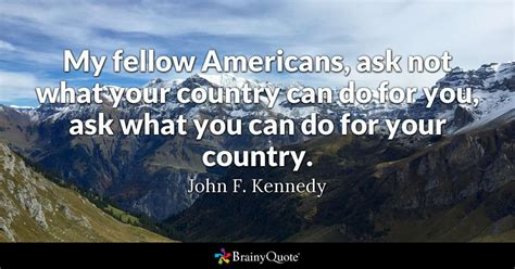 fellow americans     country