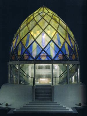 design  fine bruno taut glass house  pavillon