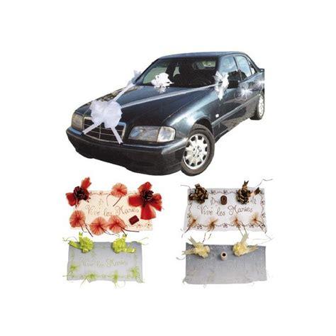 decoration de voiture de marier kit d 233 co voiture d 233 coration voiture mariage fleurs de