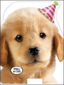 card for on wedding day puppy barking happy sound birthday card cards