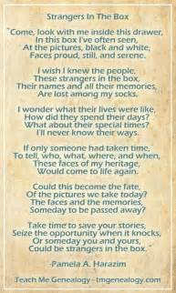 Poems About Family History
