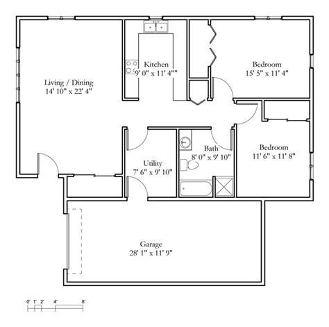 2 bedroom cottage floor plans cottage sle floor plans meadowlark hills continuing care retirement community manhattan ks