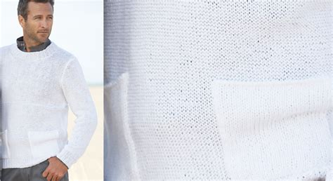 cuisine relooking le pull col rond blanc homme prima