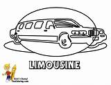 Coloring Transportation Limousine Limo Colouring Cars Yescoloring Emergency Police Vehicles Fire Truck sketch template
