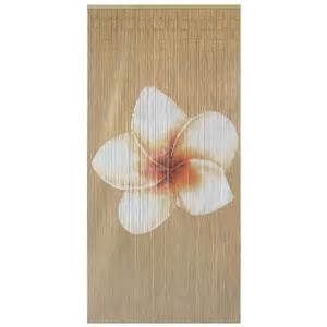bamboo beaded door curtain plain frangipani ebay