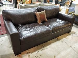 crate and barrel leather sofa axis ii espresso leather With leather sectional sofa crate and barrel