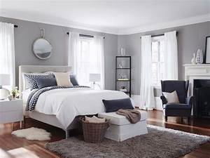 25 best ideas about ikea bedroom on pinterest ikea With couleur beige peinture murale 11 papier peint jaune et gris