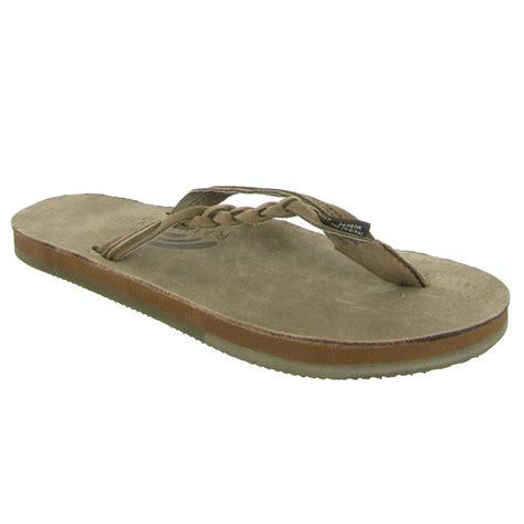 top grain leather rainbow sandals flirty braidy womens sandals