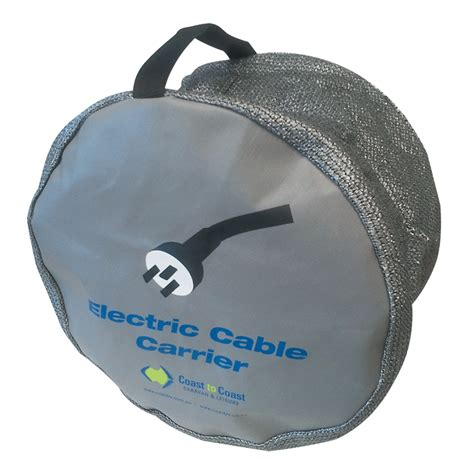 electrical lead  cable storage bag  caravan rv