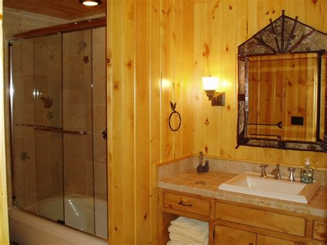 + Images About Knotty Pine Bathroom On Pinterest