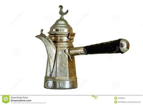 Turkish Coffee Pot Stock Image   Image: 15004601