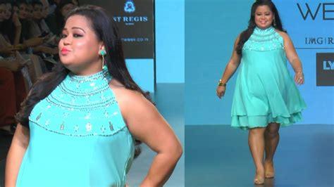 Bharti Singh's SEXY Ramp Walk at Lakme Fashion Week 2016 ...