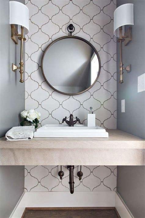 powder room mirror powder room contemporary with bathroom powder room arabesque tiles limestone tops kohler