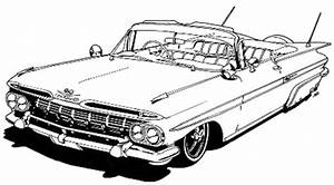 55 chevy bel air cartoon sketch coloring page With 1955 chevy hot rods