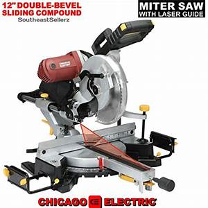 Chicago Electric 12 Miter Saw Parts List