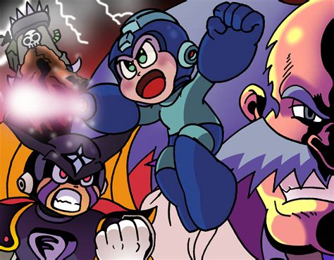 Mega Man 8 Tribute By Waniramirez On Deviantart
