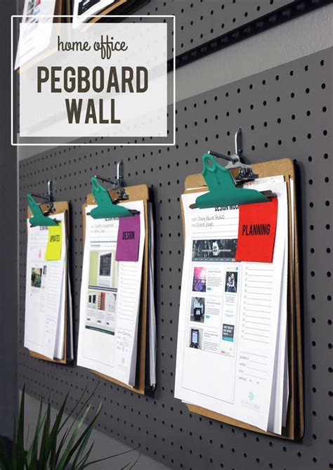 pegboard accessories for office office pegboard organization gray house studio