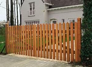 Faire Une Cloture En Bois : plan pour faire un portillon en bois ~ Dallasstarsshop.com Idées de Décoration