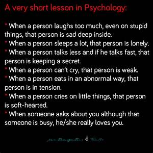 lesson in psychology | Tumblr