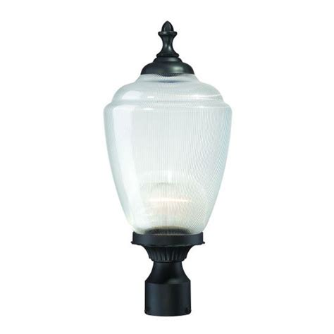 l post light fixtures shop acclaim lighting acorn 20 25 in h matte black post