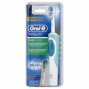 Oral-B Vitality Power Toothbrush, Dual Clean, 1 toothbrush ...