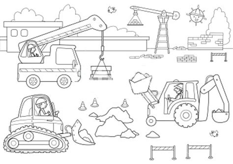 stock illustration  busy dockyardjpg engin de
