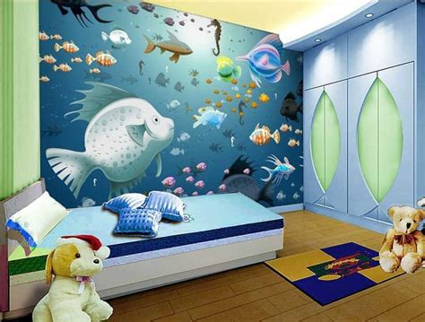 contoh lukisan  dinding kamar anak anak  remaja