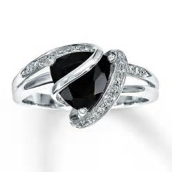 onyx wedding ring black onyx ring 1 10 ct tw diamonds sterling silver