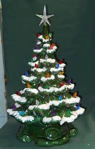 Ceramic Christmas Tree with Lights