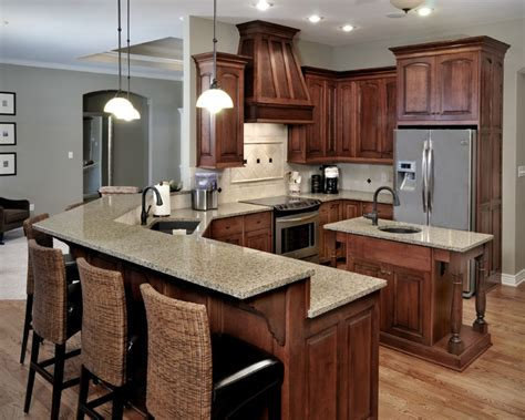 Popular Paint Colors For Living Rooms 2015 by Birch Cabinetry With Stained Finish Traditional