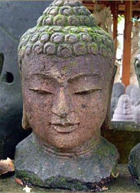 statue tete de bouddha