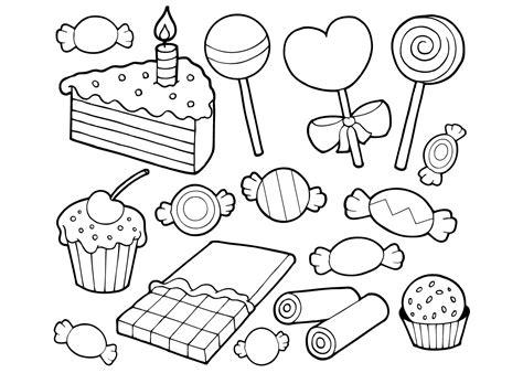 Kleurplaat Gebakjes by Kleurplaat Taart 25 Allerleukste Taarten Kleurplaten Voor