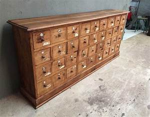 Meuble à Tiroir : ancien meuble de m tiers tiroirs ~ Melissatoandfro.com Idées de Décoration