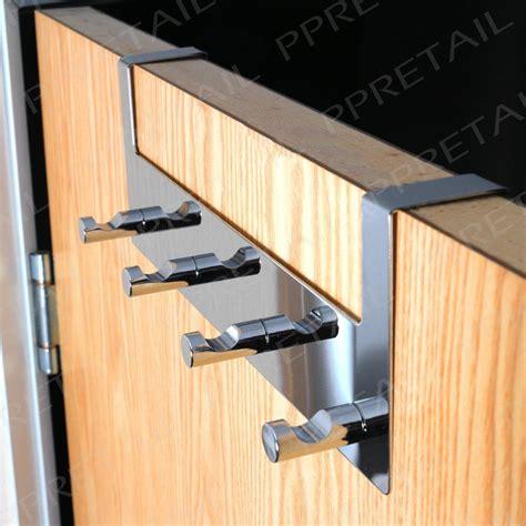 the door hanger 4 hook door hanging rail chrome for thin wide doors