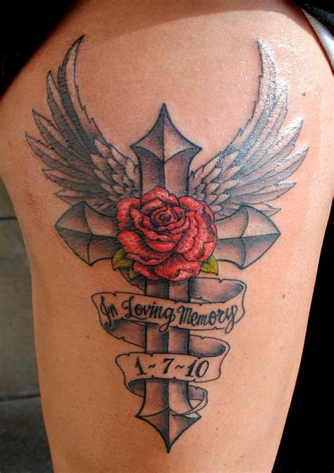 memorial tattoos design ideas   love magment