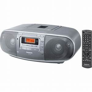 Radio Cd Kassette : zparx d50 panasonic cd cassette radio player ~ Jslefanu.com Haus und Dekorationen