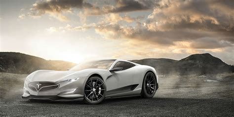 New Tesla Model R tesla model r is a rendering of the electric hypercar that