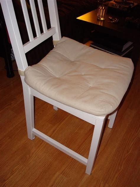 Kitchen Chair Makeover · How To Make A Seat Pad · Sewing