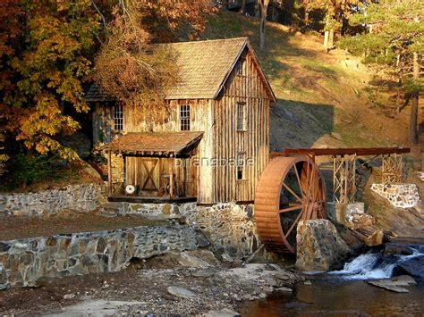 Sixes Road Grist Mill By Briansbabe Redbubble